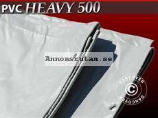 Presenning 6 x 10 m PVC 500 g/m² Grå 3245:-