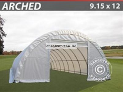 Rundbågehall 9,15 x 12 x 4,50 PVC (600 g/m²)