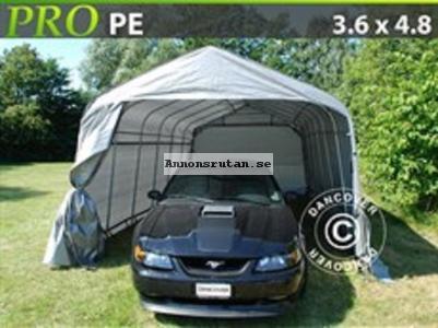 Garagetält PRO 3,6 x 4,8 x 2,7 PE Grå 4460:-