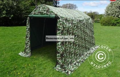 Lagertält 2,0 x 3,0 x 2,0 m PVC Kamouflage  Nu! 3141:-