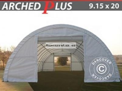 Rundbågehall  PLUS 9,15 x 20 x 4,50 PVC (600 g/m²)